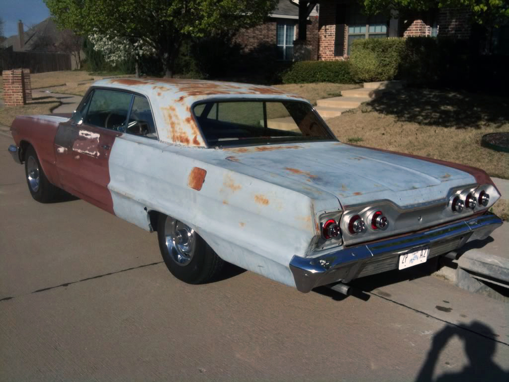 1963 Impala 2-Door Hardtop For Sale